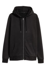 Hooded jacket Regular fit - Black - Men | H&M 2