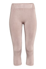 Seamless yoga tights - Powder pink - Ladies | H&M GB 2