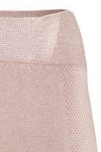 Seamless yoga tights - Powder pink - Ladies | H&M GB 3