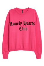 Fine-knit jumper - Pink - Ladies | H&M CN 2