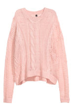 Knitted jumper - Pink - Ladies | H&M GB 2