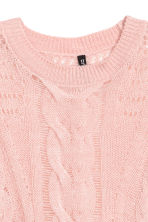 Knitted jumper - Pink - Ladies | H&M GB 3
