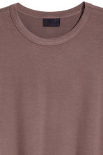 Modal jersey T-shirt - Dark mole - Men | H&M CN 3
