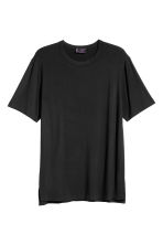 Modal jersey T-shirt - Black - Men | H&M 2