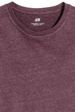 T-shirt Regular fit - Bordeaux -  | H&M CH 3