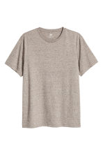 Round-neck T-shirt Regular fit - Beige marl - Men | H&M 2
