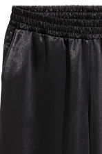 Satin culottes - Black - Ladies | H&M 3