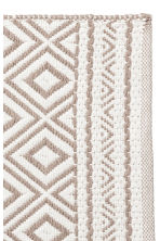 Jacquard-weave bath mat - White/Mole - Home All | H&M IE 3