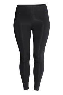 H&M+ Shaping sports tights