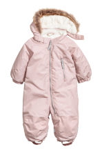 Padded Outdoor Snowsuit - Pink - Kids | H&M CA 1