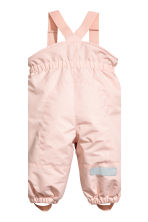Outdoor trousers with braces - Pink -  | H&M 3