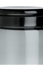 Large glass jar with a lid - Anthracite grey - Home All | H&M CN 2