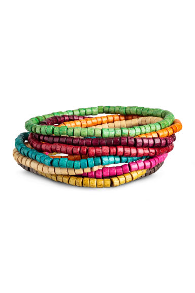 9-pack bracelets - Multicoloured - Men | H&M CN 1