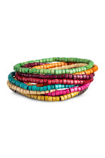 9-pack bracelets - Multicoloured - Men | H&M 1