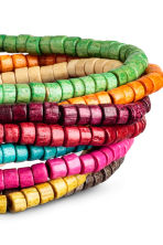 9-pack bracelets - Multicoloured - Men | H&M 2