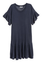 Fine-knit dress - Dark blue - Ladies | H&M 2