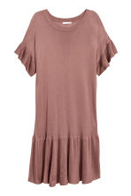 Fine-knit dress - Vintage pink - Ladies | H&M CN 2