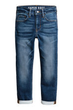 Super Soft Skinny Fit Jeans - Dark denim blue - Kids | H&M 2