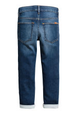 Super Soft Skinny Fit Jeans - Dark denim blue - Kids | H&M 3