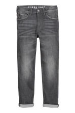 Super Soft Skinny Fit Jeans - Zwart denim - KINDEREN | H&M BE 1