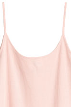 Ribbed Camisole Top - Powder pink - Ladies | H&M CA 2