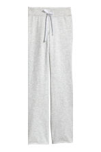 Pyjama top and bottoms - Grey/Plum - Ladies | H&M 3