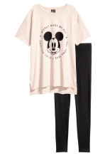 Light beige/Mickey Mouse