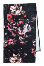 Negro/Floral
