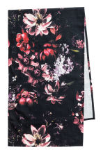 Runner in tessuto flammé - Nero/fiori - HOME | H&M IT 1