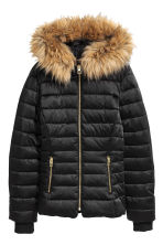 Padded jacket - Black - Ladies | H&M GB 2