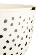 Ciotola di porcellana a pois - Bianco - HOME | H&M IT 2
