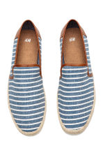 Espadrilles - Blue/Striped - Men | H&M 2