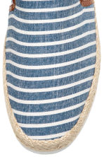 Espadrilles - Blue/Striped - Men | H&M CA 3