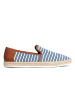 Espadrilles - Blue/Striped - Men | H&M 1