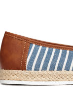 Espadrilles - Blue/Striped - Men | H&M CA 4