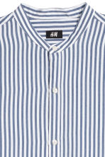 Viscose shirt Slim fit - White/Blue striped - Men | H&M 3