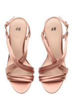 Sandals - Powder beige - Ladies | H&M CA 2
