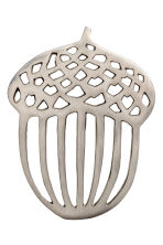 Metal trivet - Silver-coloured - Home All | H&M CN 1
