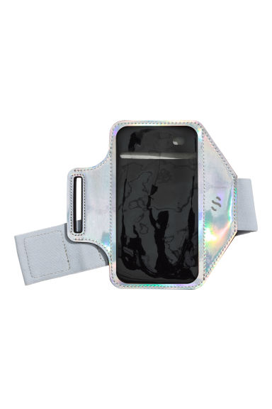 Sports armband - Light grey/Metallic - Ladies | H&M 1