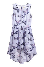 Asymmetric dress - Purple/Butterflies - Kids | H&M 2