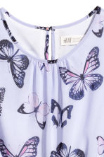 Asymmetric dress - Purple/Butterflies - Kids | H&M 3