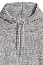 Textured-knit jumper - Grey marl - Men | H&M CN 3