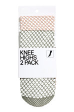 2-pack knee-highs - Khaki - Ladies | H&M 1