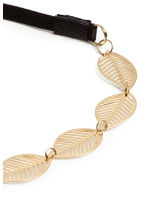 Hairband with metal leaves - Gold - Ladies | H&M 2