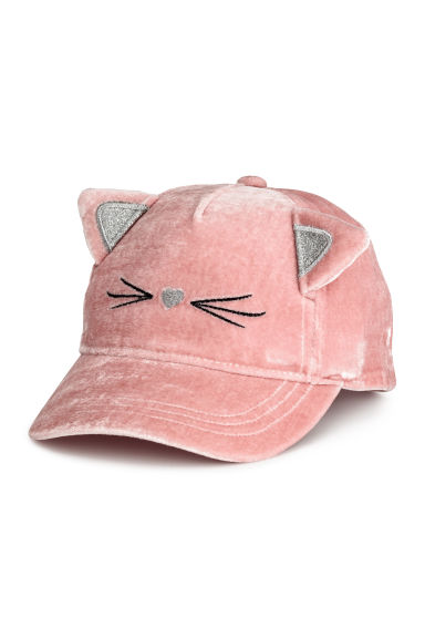 Velvet cap - Old rose -  | H&M CN 1