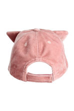 Velvet cap - Old rose -  | H&M CN 2
