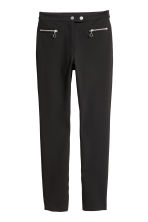 Smart stretch trousers - Black - Ladies | H&M 2