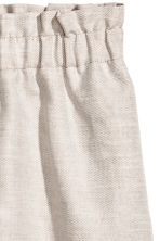 Linen-blend skirt - Light beige - Ladies | H&M 3