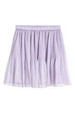 Pleated skirt - Light purple - Ladies | H&M CN 2