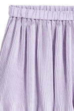 Pleated skirt - Light purple - Ladies | H&M CN 3